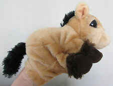 FAB CUTE PONY HORSE FOAL PLUSH HAND GLOVE PUPPET