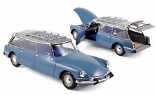 NOREV 1:18 1967 CITROEN ID 19 BREAK DIECAST CAR MODEL 181591BL BLUE