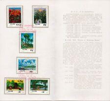 um028 China T55 Scenes of Xishuang Banna 西双版纳风光 Stamp Folder 1981