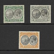 Mint Hinged George V (1910-1936) Dominica Stamps (Pre-1967)