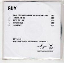 (HB490) Guy, Why You Wanna Keep Me From My Baby - 1999 DJ CD