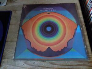 MILES DAVIS, MILES IN THE SKY, CBS, 1968,  RARE CLASSIC JAZZ VINYL ALBUM