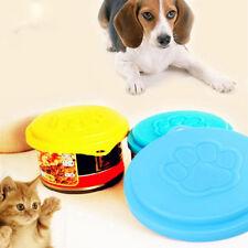 3Pcs/Set Reusable Pet Food Can Cover Lid Dog Cat Tin Plastic Storage Cap Healthy