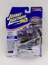 Johnny Lightning 1958 Chevy Corvette Convertible White Lightning