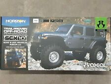 Axial Scx10 Iii Jeep Wrangler Jl 1/10 Scale Rock Crawler Kit w/Portals Axi03007