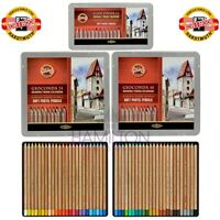 KOH-I-NOOR SOFT PASTEL PENCILS - soft, creamy pastel pencils in various tin sets
