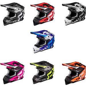 Castle X MODE MX FLOW Snowmobile Motorcycle Helmet (XS - 3XL)