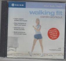 GAIAM Walking Fit Cardio Workout (CD)  Madeleine Lewis, Free Shipping !!!