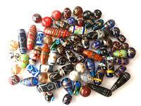 Indische Glasperlen im MURANO Design MIX pro 50g