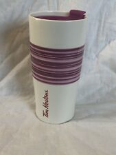 tim hortons 2015 Ceramic Purple travel mug