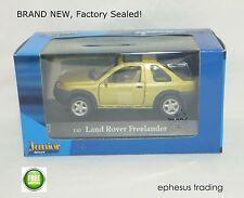 Hongwell Junior Driver Land Rover Freelander SUV L314 Green w/Tan RHD 1/43 NEW!