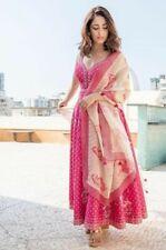 Indian Elegant Anarkali Kurta Kurti Beautiful Flared Long Gown Partywear Dress