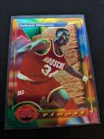 🔥1993-94 Topps Finest HAKEEM OLAJUWON  #76 HOUSTON ROCKETS