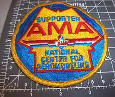 AMA supporter, natl center for aeromodeling Embroidered Patch, great collectible