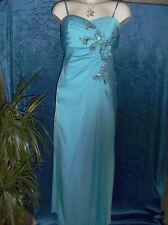 Schickes Juju & Christine - Abendkleid/Ballkleid mit Stola - Gr. 36 - Farbe blau
