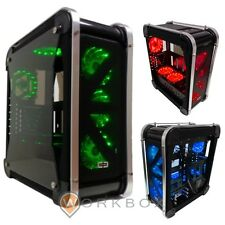 CASE CORTEK OMEGA ATX 2.0 7XFAN 15 LED RGB 3COLORI REGOLABILI DA PANNELLO OMEGAN