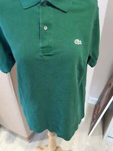 Lacoste Men's Polo Shirt Size 3 FRAPRJB2
