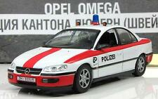 DeA 1:43 Opel Omega police Switzerland serie Police cars of the world