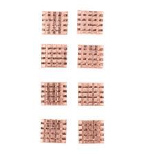 8 Stück Kupfer Kühlkörper Selbstklebend Heatsinks Kühlung für VGA GPU