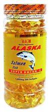 Alaska Salmon Fish Oil  Super Omega-3  (200 soft gels) 1000mg