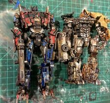 Transformers 4 Custom Optimus Prime Evasion Mode And megatron voyager