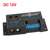 DC 12V Speaker to RCA Line Audio Level Amplifier Converter for Car