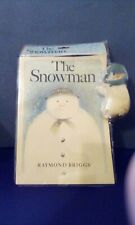 Rare/Hard to Find - The Snowman Book & Plush Set - Sealed Mib 1987 Eden Toys