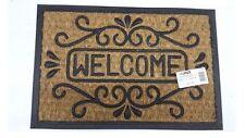 Tappeto fuori porta panama WELCOME casa esterno zerbino ingresso 40x60