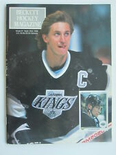 WAYNE GRETZKY 1990 BECKETT HOCKEY magazine