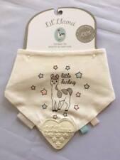 TEETHING BIB  Cream Llama : Little Darling - by LIL'