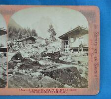 1860s Suisse Stereoview 204 Le Wellkorn Entre Meiringen Et Roselaui Ernest Lamy