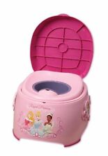 Disney Princess 3 in 1 Potty Trainer-Potty + Trainer Seat + Step Stool-NIB-READ