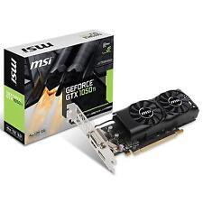 MSI NVIDIA GeForce GTX 1050Ti 4GB GDDR5 Low Profile Graphics Card (MSI-GTX1050Ti4GTLP)