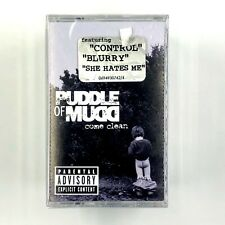 PUDDLE OF MUD COME CLEAN Sealed Cassette Tape w/ OG Hype Sticker Rare