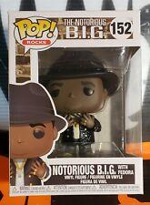 2020 Funko Pop! Rocks * Notorious B.I.G. w/ Fedora * Vinyl Figure #152