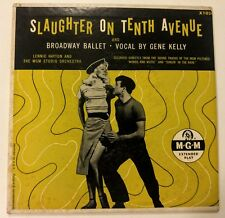 Slaughter on Tenth Avenue Gene Kelly MGM 45 rpm Record X1026