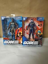"GI JOE Classified Series  COBRA COMMANDER & ROADBLOCK  COBRA ISLAND 6"" Figure"