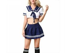 Erotische Cheerleader Kostüm Schulmädchen Dessous Rolle Spielen Schoolgirl Sexy