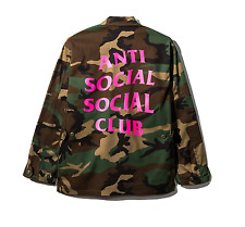Anti Social Social Club BDU Battle Dress Uniform - Camo/Pink Medium