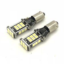 2 x BAY9S H21W 435 Canbus 16W CREE SMD LED Lampen XENON WEIß Rückfahr Nebel