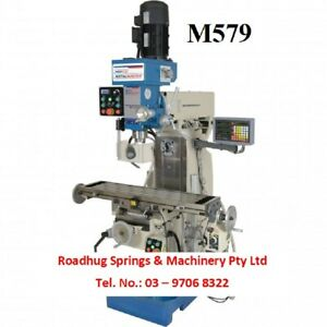MILLING MACHINE – Inverter - Turret 240v  Order No.: M579
