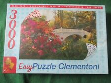 CLEMENTONI 3000 Piece HIGH QUALITY Puzzle  MAGNOLIA GARDENS USA  ~ RARE Jigsaw