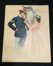 Gorgeous 1899 Armour's Army & Navy Art Calendar Complete Great Condition