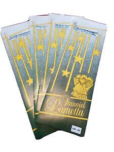 Lametta Stanniol Bleilametta 4 Pakete Silber