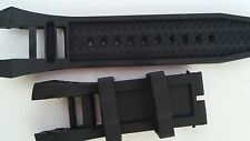 Rubber Silicone Watch Band Strap For Invicta Subaqua Noma IV Noma 4 - 6575 6576