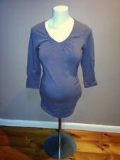 """Bub2b"" brand 3/4 Sleeved Maternity Top - size M. Light Burgundy colour."