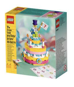 LEGO 40382 Birthday Cake Set  141 Pieces With Minifigure Brand New! Sealed!