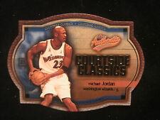 Michael Jordan 02/03 Fleer authentics #5 Courtside Classics Die Cut