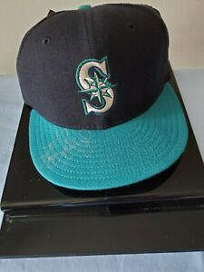Ken Griffey, Jr. Seattle Mariners Signed 5950 New Era Ball Cap