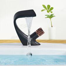 Schwarz Waschtischarmatur Bad Wasserhahn Bad Waschbecken Einhebelmischer Design